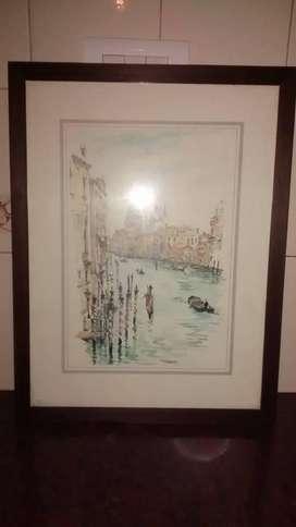 cuadro del canal Grande de Sicilia