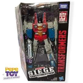 Transformers War for Cybertron Siege Voyager STARSCREAM