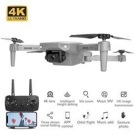 Drone Mini Camara Iluminación App Con Maleta