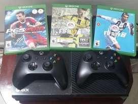 Xbox one FIFA 21 2 controles 6 juegos