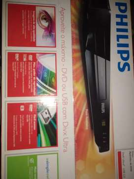 Reproductor DVD Phillips DivX ultra