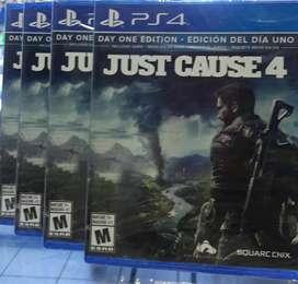 JUST CAUSE 4 EDICION DIA UNO PS4 SELLADO STOCK