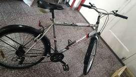 bicicleta c/cambios rodado 26 usada