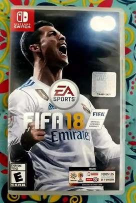 FIFA 18 Nintendo switch  físico usado
