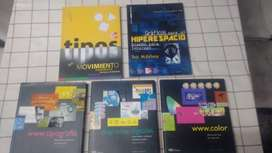 venta 5 libros especializados para desarrolladores de paginas web