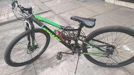 Vendo bicicleta Monark Canyon Aro 29