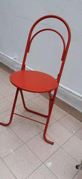 Juego de sillas plegables x6