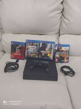Vendo PS4 Slim en óptimas condiciones
