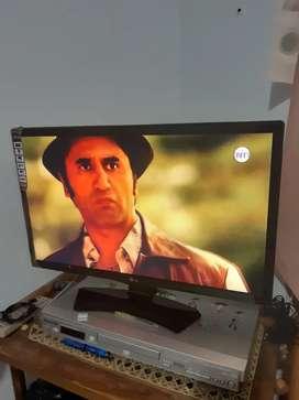 Tv LG led 25pulg TDT y control