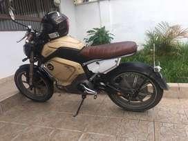 Vendo moto electrica en buen estado