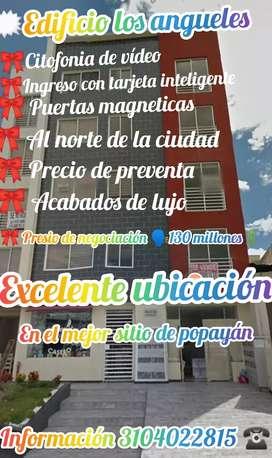 Se vende apartamento en la mejor ubicación de la ciudad de popayán y su alquese del bolsillo  $precio 125