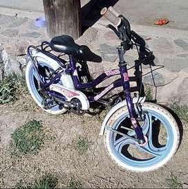 vendo dos bicicletas para niña o niño