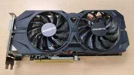 Tarjeta de video NVIDIA GTX 960 DE 2GB - usada