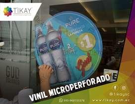 Vinilos decorativos microperforados, arenado gigantografias, lona, canvas, lona mesh, vinilos decorativos stickers.