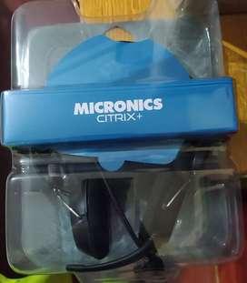 Audífonos micronics citrix +  con micrófono para PC