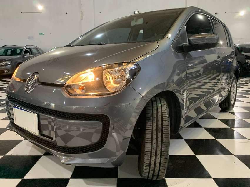 Volkswagen Up! 1.0 Move I-Motion 5 puertas 2017 gris 0