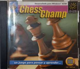 Juego de PC Original Chess Champ