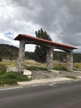 Lotes en Venta Locoa - 1 km del colegio CEC  - Latacunga - Ecuador