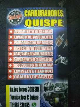 Carburadores Quispe