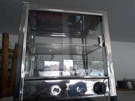 Vitrina de Calor 40 cms Calefacción