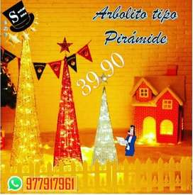#Arboles de Navidad #Piramidales