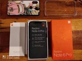 Xiaomi Redmi Note 6 Pro en caja original igual a Nuevo