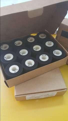 Rodillo Hotroll Hot Ink Roller Tinta Térmica para codificador fechador Ø36*32mm color negro