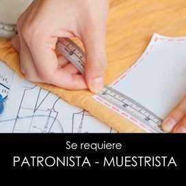 PATRONISTA - MUESTRISTA