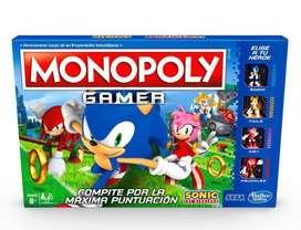 Monopoly Sonic Gamer - Juego de Mesa