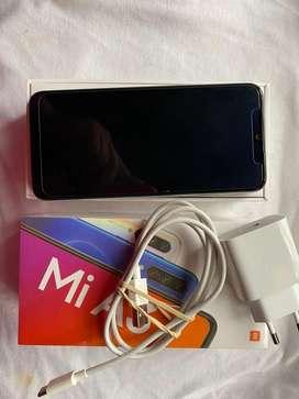Se vende  telefono Xiaomi miA3, blaco de 128Gb