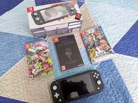 Nintendo switch Lite + juegos