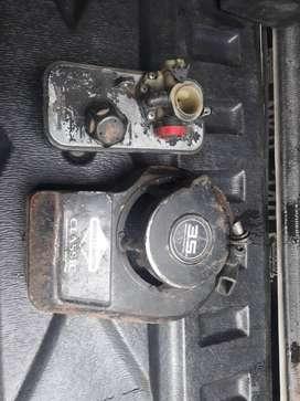 carburador y arranque