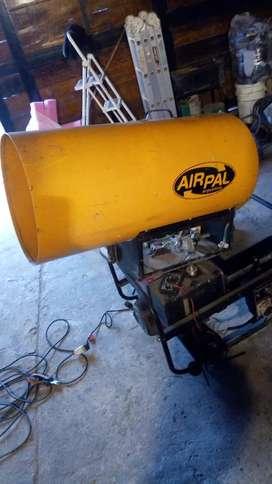 Calefactor cañón a gas