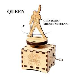 Nueva Caja Musical Giratoria Queen Bohemian Rhapsody Regalo