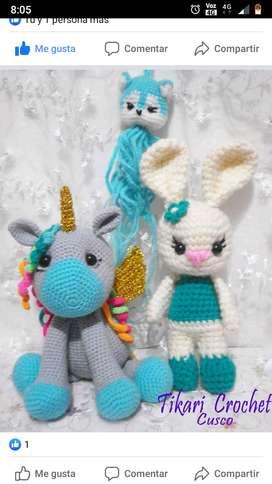 Amigurumi, muñecos, Crochet