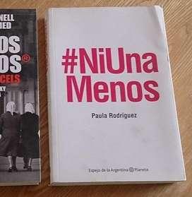 Libro Ni una menos de Paula Rodriguez