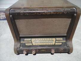 Muy Antigua Radio Ideal Decoracion Vintage Enorme