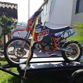 Campeón!! MOTO enduro KTM 300 2t