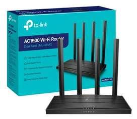 Router Tp-link Doble Banda Archer C80 Ac1900 4 Antenas