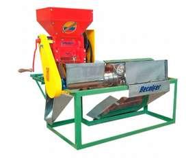 Modulo para despulpar y clasificar cafe para 300 kilos de cafe hora Incluye: Despulpadora horizontal, zaranda en lamina.