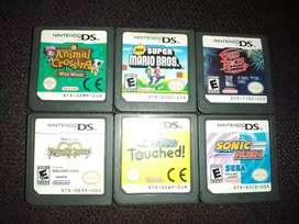 Vendo juegos de nintendo 2ds