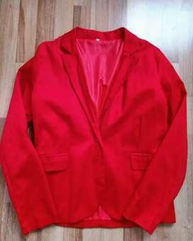 Blazer rojo - nuevo