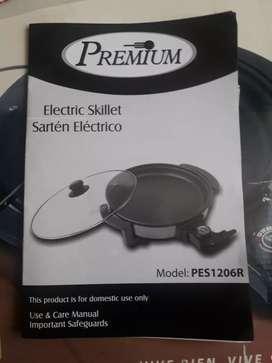 Sarten eléctrico marca Premium