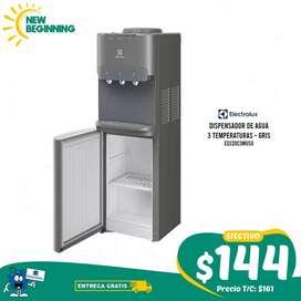 Dispensador Electrolux Eqs20c3musg, 3 Temperaturas, Gris + ENTREGA GRATIS