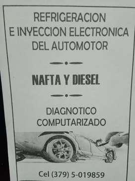 Refrigeración, e inyección electrónica del automotor