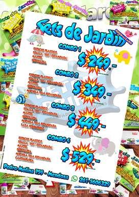 SETS DE JARDIN Y GUARDERIAS PERSONALIZADOS