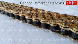 Cadena Did Japan Reforzada Paso 428 Honda Cb190r cb160f D.i.d cadena reforzada japonesa did honda cb 160 f cb 190 r