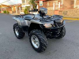 Suzuki KING Quad 700cc 4x4 2006 Bloqueos 2700 millas Cuadraciclo ATV Recibo FINANCIO