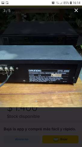 Grundig digital Turner DTS 4000