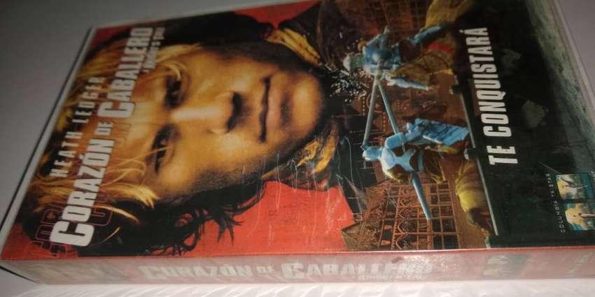 VHS Corazón de Caballero Heath Ledger 0